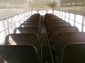 empty bus seats